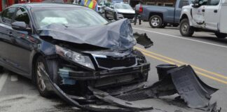Car Was Smashed By A Boulder