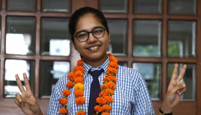 Divyanshi Jain Marks in 12th CBSE Board