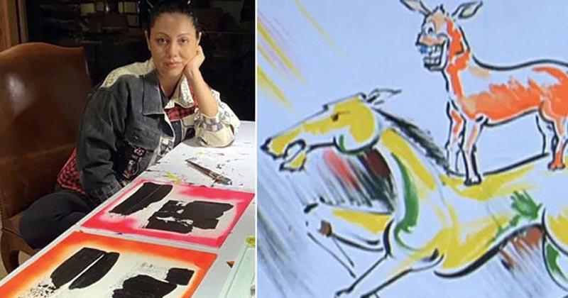 Gauri Khan Made Painting During Lockdown