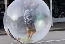 Giant Bubble shield against Coronavirus