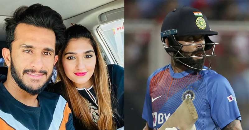 Hasan Ali wife is big fan of virat kohli