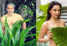 Milind Soman Shared Shirtless Photo