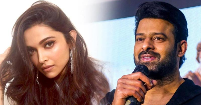 Prabhas and Deepika Padukone are collaborating First Time