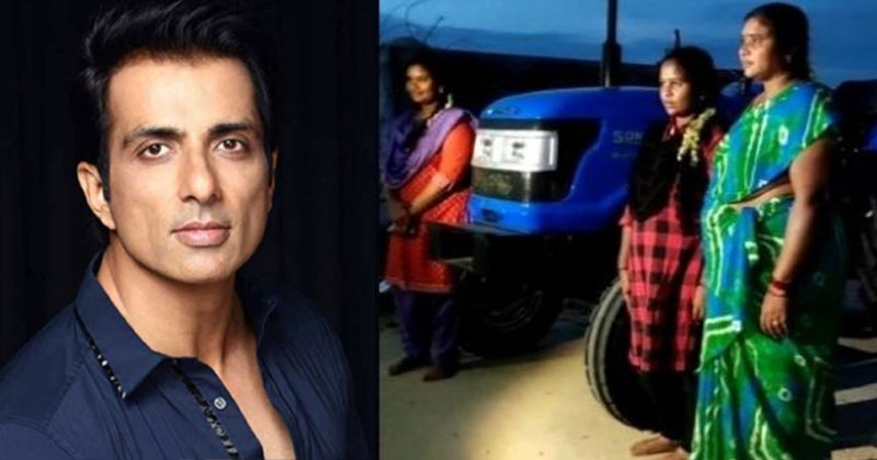 Sonu Sood sends tractor to Chittoor farmer