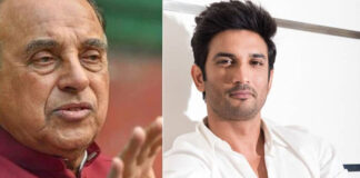 Subramanian Swamy call it Murder Sushant Singh Rajput Suicide Case