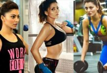 Urvashi Rautela Shared Workout Photo
