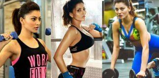 Urvashi Rautela Shared Workout Photo