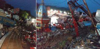 Uttarakhand Monsoon Heavy Rain Har Ki Pauri Lightning