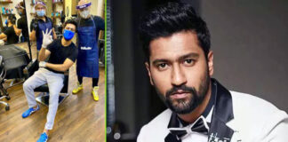 Vicky Kaushal thrilled haircut
