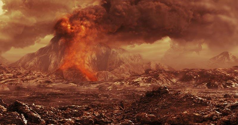 Volcano Active On Venus