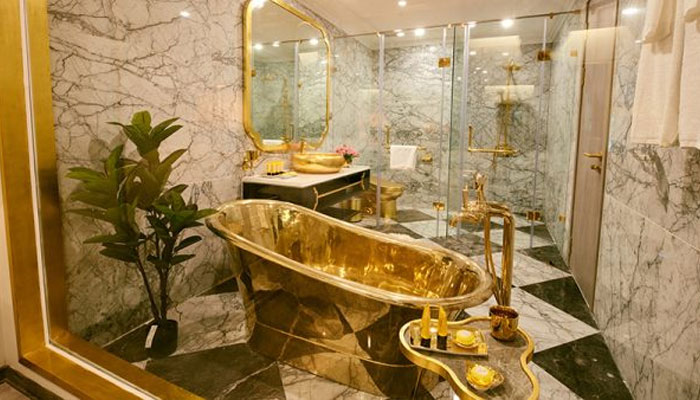World First Gold Plated Hotel