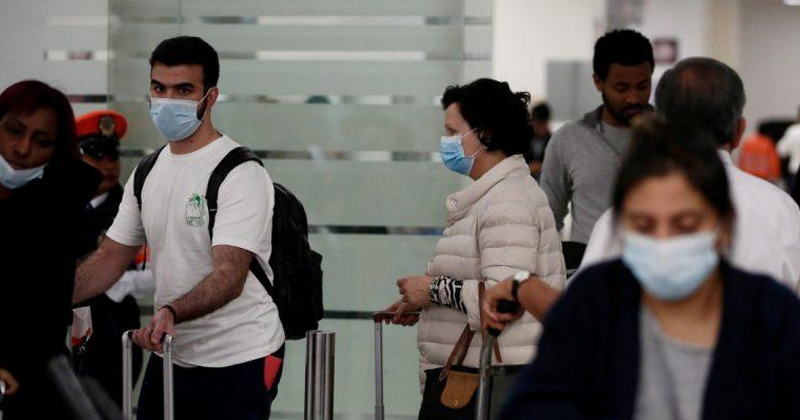 coronavirus positive report man flies delhi to kolkata