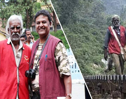 d sivan postman who walked 15 km for 30 years on his duty