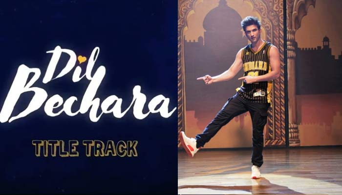 dil bechara title track