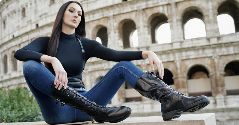 ekaterina lisina russian tall female model