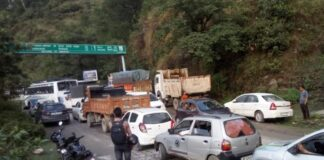 himachal pradesh traffic jam