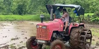 salman khan farming in rain video viral