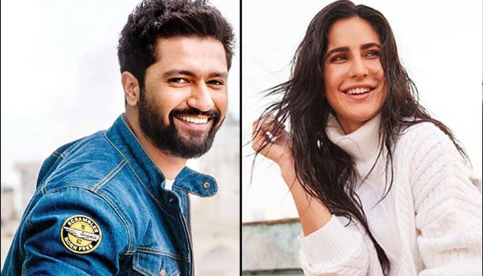 vicky kaushal With Katrina Look Stunning Together