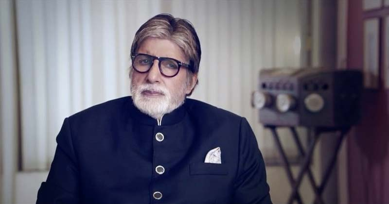 Amitabh Bachchan Hit at Troll For Amul ad Poster