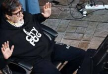 Amitabh bachchan Follow Safety Precautions