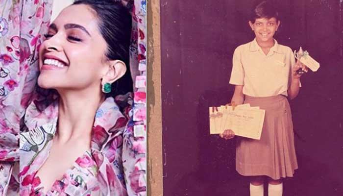 Deepika Padukone - Bollywood Actresses in Their School Uniform