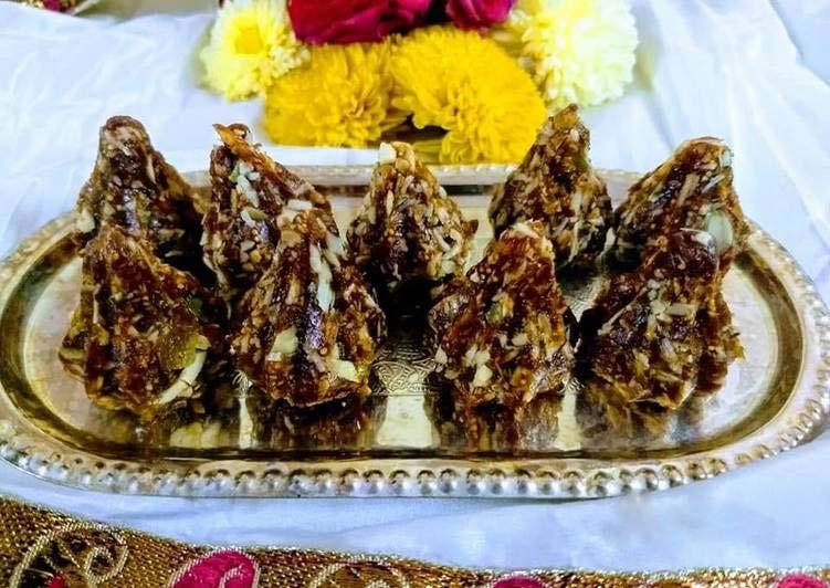 Dry fruits modak recipe in hindi