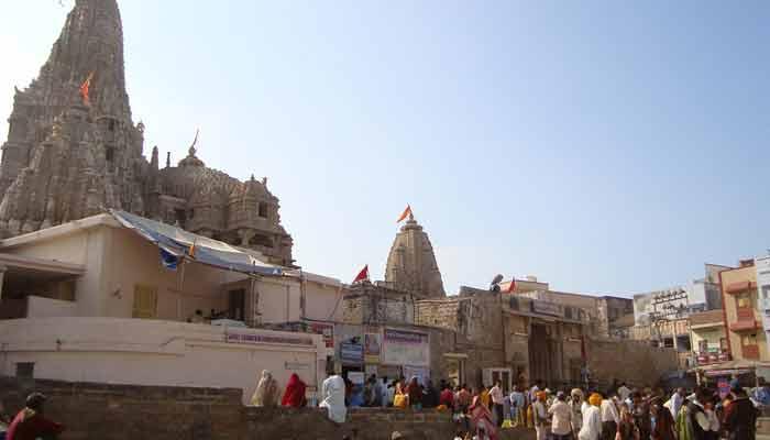 Dwaraka krishna Janmashtami temple in gujarat