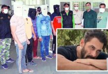Faridabad Police Arrested Sharpshooters