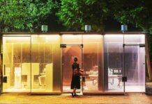 Japan Invent Transparent Public Toilet