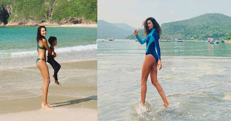 Lisa Haydon Beach Photoshoot Pictures Goes Viral