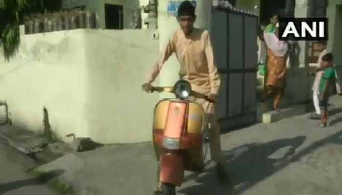 Ludhiana Student Invented Scooter Cycle