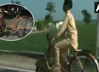 Ludhiana Student Made Bicycle Looks Like Scooter