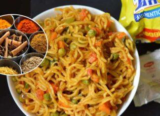 Maggi Masala recipe and Ingredients