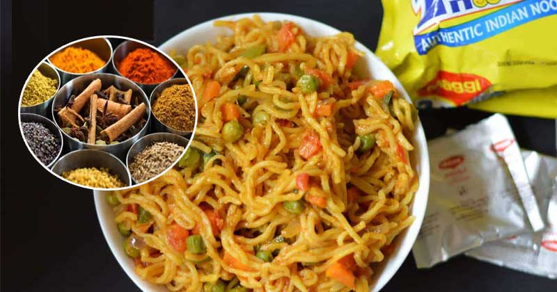 Maggi Masala recipe and Ingredients