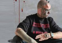 Mr Skull Man Body Modifications And Tattoos