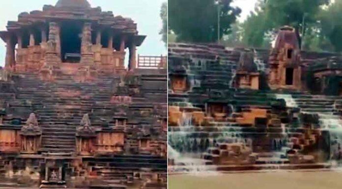 PM Narendra Modi Share Modhera Sun Temple Video