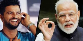 PM Narendra Modi Writes Letter To Suresh Raina