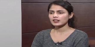 Rhea Chakraborty interview