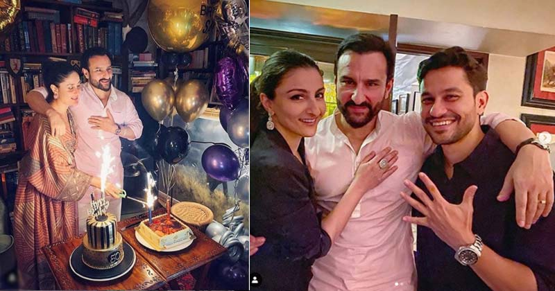 Saif Ali Khan Celebrate 50th Birthday