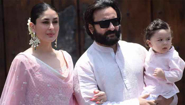 Saif Ali Khan Son React on his Post