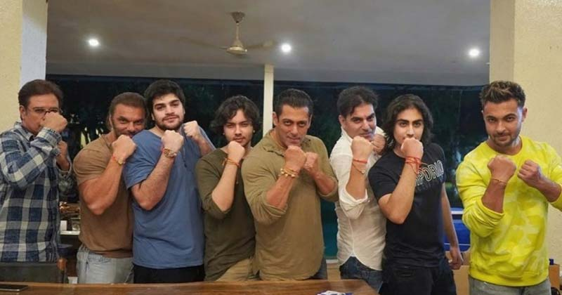 Salman Khan Celebrates Rakhi With Family Viral Photos