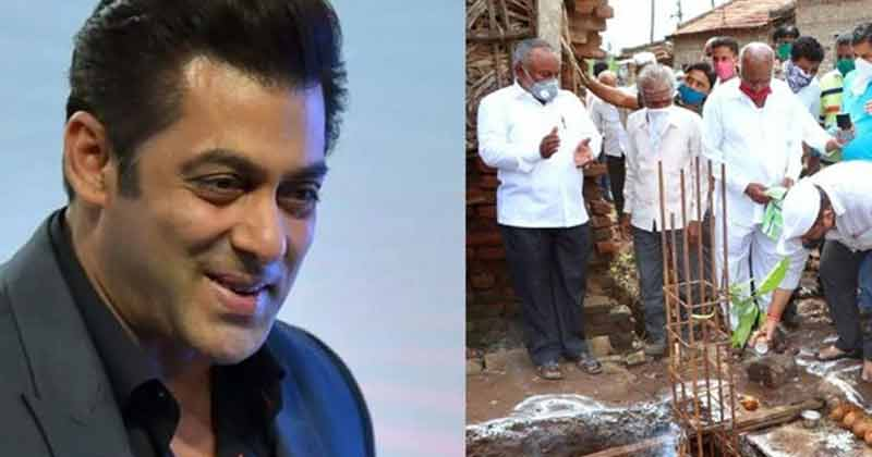 Salman Khan Help To Rebuild Flood Affected Houses