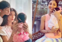 Shilpa Shetty Daughter Samisha photo goes Viral