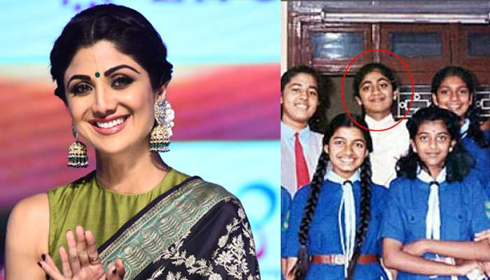 Shilpa Shetty - Bollywood Actresses in Their School Uniform
