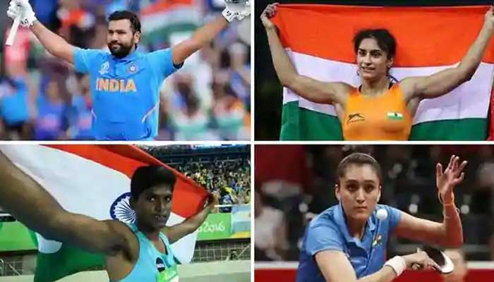 Sports Champions Get Rajiv Gandhi Khel Ratna Award