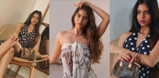 Suhana Khan Shares Glamorous Photos on Social Media