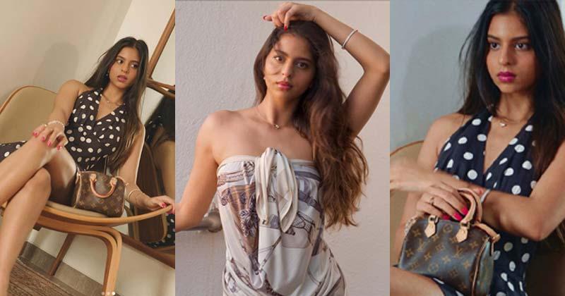 Suhana Khan Shares Glamorous Photos on Social Media