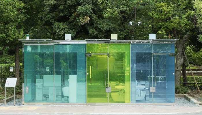 Transparent Toilet In Japan
