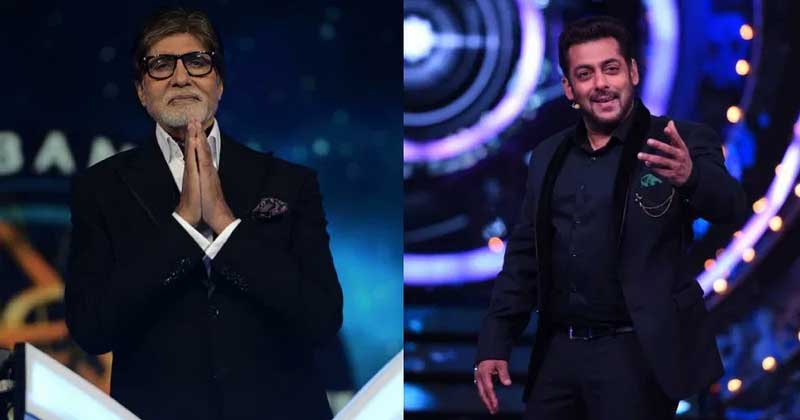 Trp Battle Between Salman Khan And Amitabh Bachchan