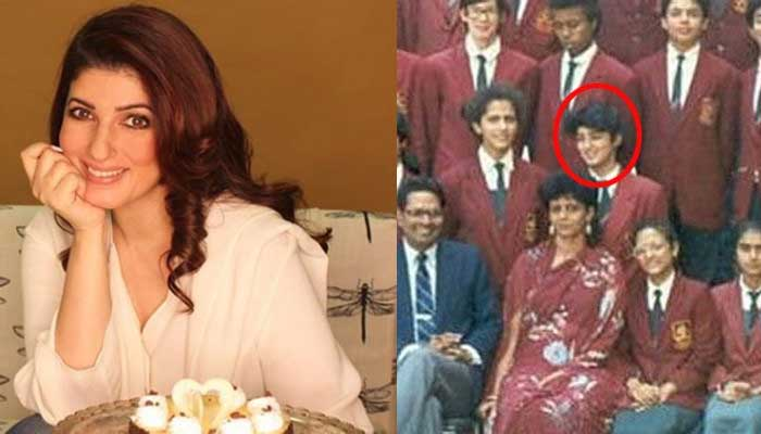 Twinkle Khanna - Bollywood Actresses in Their School Uniform